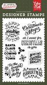 Making Spirits Bright Stamp Set - Salutations Christmas - Echo Park