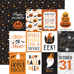 3x4 Journaling Cards Paper - Halloween Party - Echo Park
