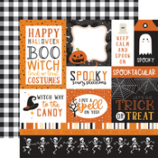 Multi Journaling Cards Paper - Halloween Party - Echo Park