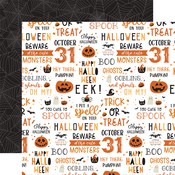 October 31st Paper - Halloween Party - Echo Park