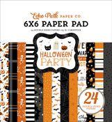Halloween Party 6x6 Paper Pad - Echo Park