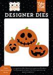 Happy Jack-O-Lanterns Die Set - Halloween Party - Echo Park
