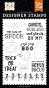 Just Say Boo Stamp Set - Halloween Party - Echo Park