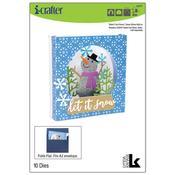 Tunnel Card Insert, Snow Globe Add-On - i-Crafter
