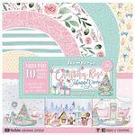 Christmas Rose 8x8 Paper Pad - Stamperia - PRE ORDER