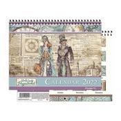 Lady and Sir Vagabond 2022 Calendar - Stamperia - PRE ORDER