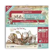 Alice Pop Up Card Kit - Stamperia