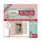 Alice Tunnel Pop Up Card Kit - Stamperia - PRE ORDER