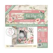 House of Roses Tunnel Pop Up Card Kit - Stamperia - PRE ORDER