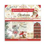 Romantic Christmas 12x12 Paper Pad - Stamperia - PRE ORDER
