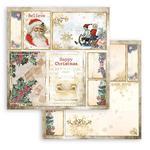 Santa Claus Paper - Romantic Christmas - Stamperia