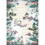 Birds Rice Paper - Romantic Christmas - Stamperia