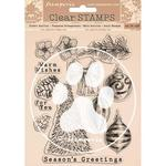 Romantic Christmas Stamps - Stamperia