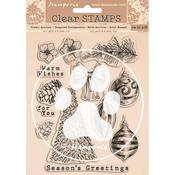 Romantic Christmas Stamps - Stamperia - PRE ORDER