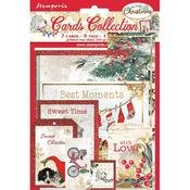 Romantic Christmas Card Collection - Stamperia - PRE ORDER