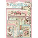 Pink Christmas Cards Collection - Stamperia