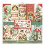 Classic Christmas 6x6 Paper Pad - Stamperia - PRE ORDER