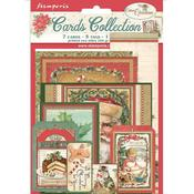 Classic Christmas Cards Collection - Stamperia - PRE ORDER