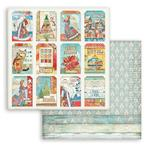 Cards Paper - Christmas Patchwork - Stamperia