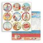 Rounds Paper - Christmas Patchwork - Stamperia