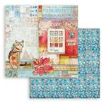 Cat Paper - Christmas Patchwork - Stamperia