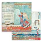 Angel Paper - Christmas Patchwork - Stamperia