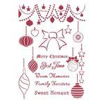 Balls Stencil - Christmas Patchwork - Stamperia