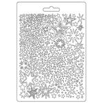 Stars A5 Soft Mould - Christmas Patchwork - Stamperia