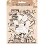 Christmas Patchwork Stamps - Stamperia