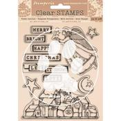 Christmas Patchwork Stamps - Stamperia - PRE ORDER