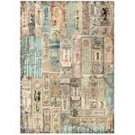 Oriental Texture Rice Paper - Sir Vagabond In Japan - Stamperia - PRE ORDER