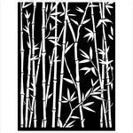 Bamboo Stencil - Sir Vagabond In Japan - Stamperia - PRE ORDER