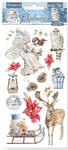 Christmas Elements Chipboard - Winter Tales - Stamperia - PRE ORDER
