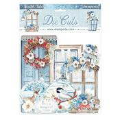 Quotes and Labels Assorted Die Cuts - Winter Tales - Stamperia