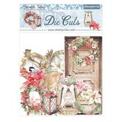 Christmas Elements Assorted Die Cuts - Winter Tales - Stamperia