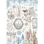 Castle Rice Paper - Winter Tales - Stamperia