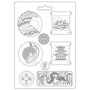 Plates A4 Soft Mould - Sir Vagabond In Japan - Stamperia - PRE ORDER