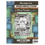 Writings Mixed Media Stamp - Sir Vagabond In Japan - Stamperia