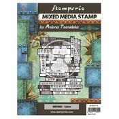 Writings Mixed Media Stamp - Sir Vagabond In Japan - Stamperia - PRE ORDER