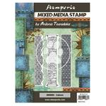 Borders Mixed Media Stamp - Sir Vagabond In Japan - Stamperia