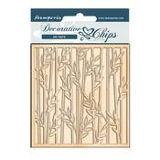 Bamboo Decorative Chips - Sir Vagabond In Japan - Stamperia - PRE ORDER