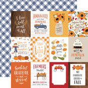 3x4 Journaling Cards Paper - Fall - Echo Park