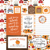 Multi Journaling Cards Paper - Fall - Echo Park