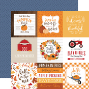 4x4 Journaling Cards Paper - Fall - Echo Park
