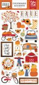 Fall 6x13 Chipboard Accents - Echo Park