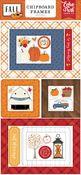 Fall 6x13 Chipboard Frames - Echo Park