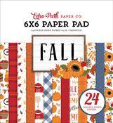 Fall 6x6 Paper Pad - Echo Park