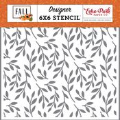 Fall Foliage Stencil - Fall - Echo Park