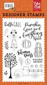 Welcome Autumn Stamp Set - Fall - Echo Park