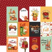 3X4 Journaling Cards Paper - Welcome Autumn - Carta Bella